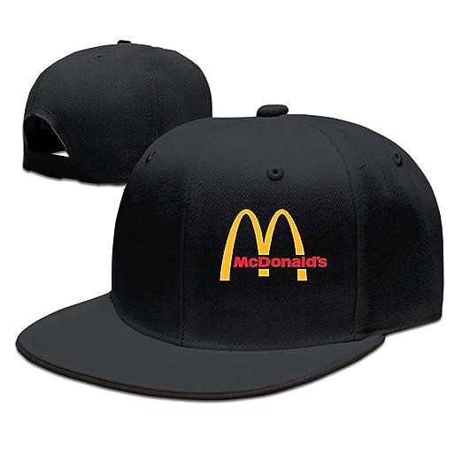 26a8fe9b Unisex Adjustable Cap Classic Logo Flatbrim Baseball Hats Snapback Flat  Bill Flexfit Hat Snapbacks Caps for Women Men Black at Amazon Men's  Clothing store: