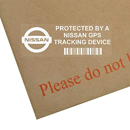 5 x NISSAN GPS Tracking Device Security WINDOW Stickers ...