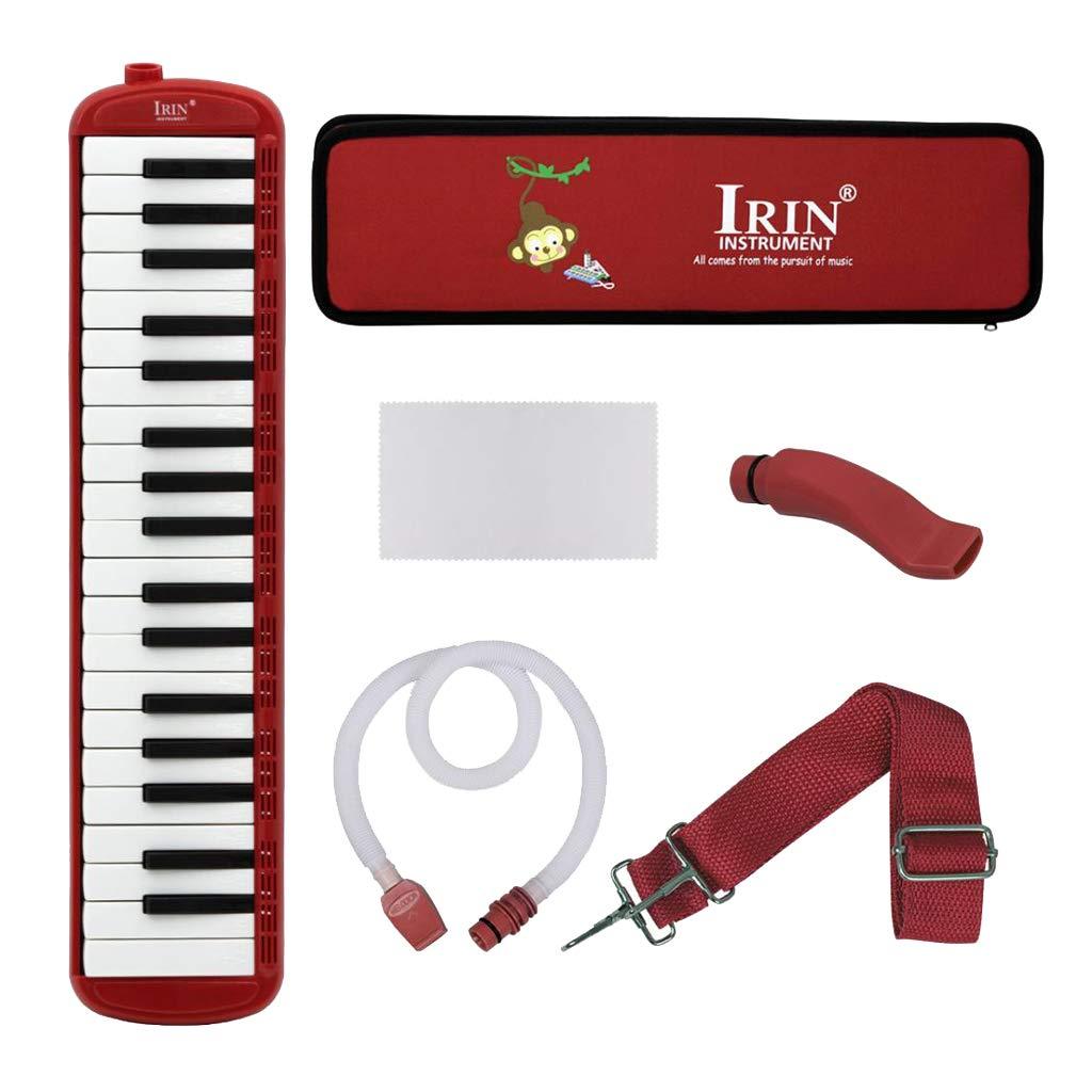 Almencla 37 Key Keyboard Harmonica With Professional Bag Musical Instrument - Red, 48 x 11 x 4.5cm by Almencla (Image #3)