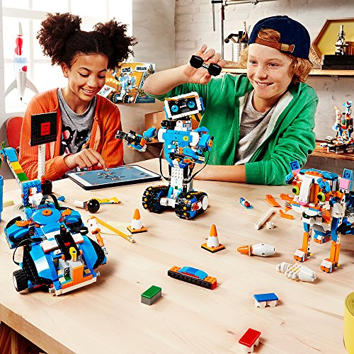 61hqTHKDqjL - LEGO Boost Creative Toolbox 17101 Fun Robot Building Set and Educational Coding Kit for Kids, Award-Winning STEM Learning Toy (847 Pieces)