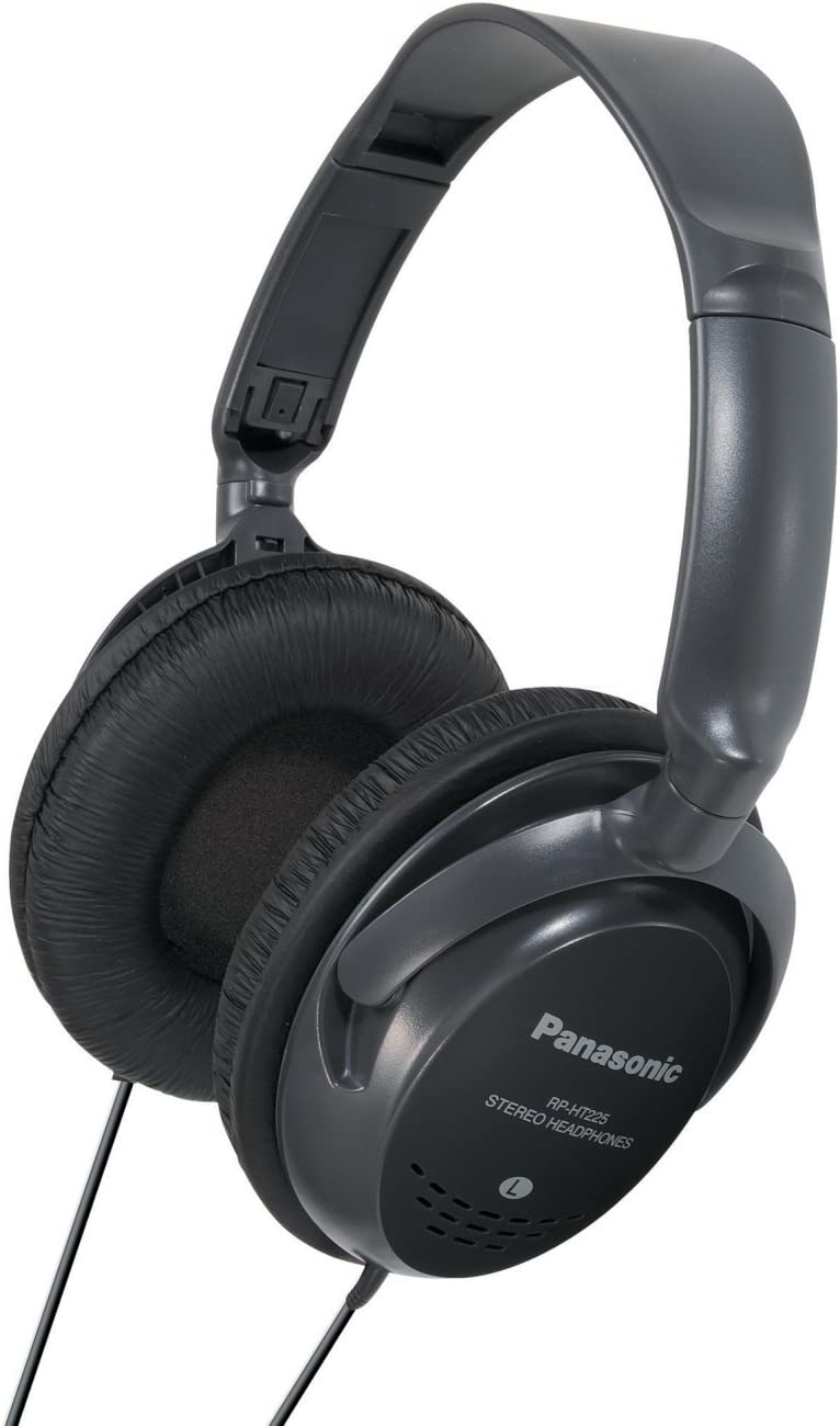 Panasonic RPHT225 Monitor Headphones Black