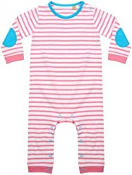 49eeaa600a Larkwood Baby Boys Long Sleeve Striped Bodysuit