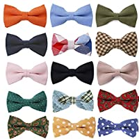 Tok Tok Designs Premium Mens Pre-Tied Bow Ties Collection