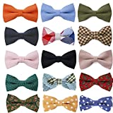 Tok Tok Designs® Premium Mens Pre-Tied Bow Ties Collection