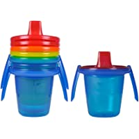 The First Years Take & Toss - 2 Handled Trainer 4pk, Multicolor