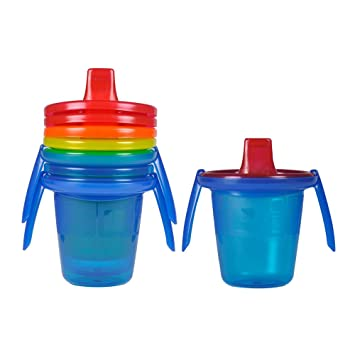 10 Ounce The First Years Take Toss Spill-Proof Sippy Cups 4 Count