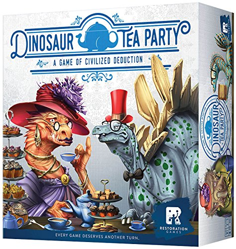 Halloween Tea Party Games (Dinosaur Tea Party Board Game)