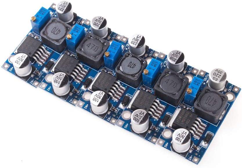 5 Stück Angeek Lm2596s Dc Spannung Stromversorgung Step Down Modul Von3 2 40v Nach1 25 35v Für Arduino Baumarkt