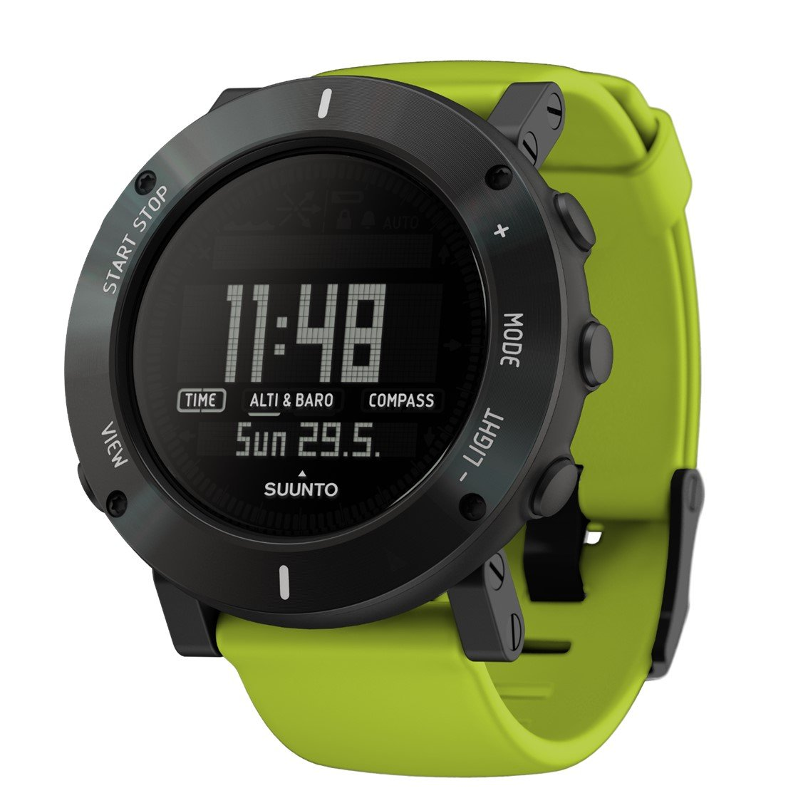 スント(SUUNTO) 腕時計 コア クラッシュ 3気圧防水 方位/高度/気圧/水深 [日本正規品 メーカー保証2年] B00MA5F6E8  ライムクラッシュ
