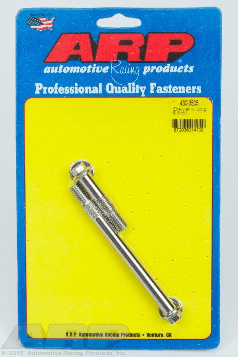 Chevrolet All Models ARP 430-3505 Starter Bolt Kit 12 pt UHL=1.880 /& 4.450