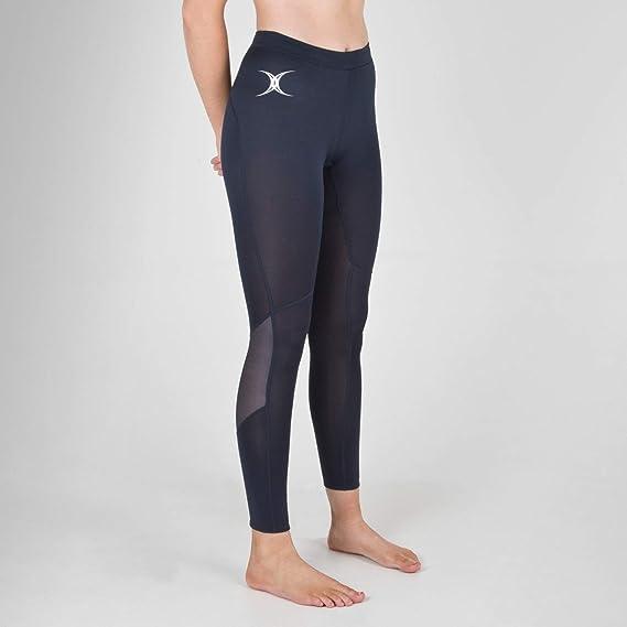 9f28a523c2c86 Vixen II Netball Print Leggings - Dark Navy - size 8: Amazon.co.uk: Clothing
