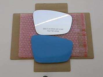 Convex Passenger Side Replacement Mirror Glass for VOLKSWAGEN BEETLE Burco 2001 2002 2003 2004 2005 2006 2007 2008 2009 2010