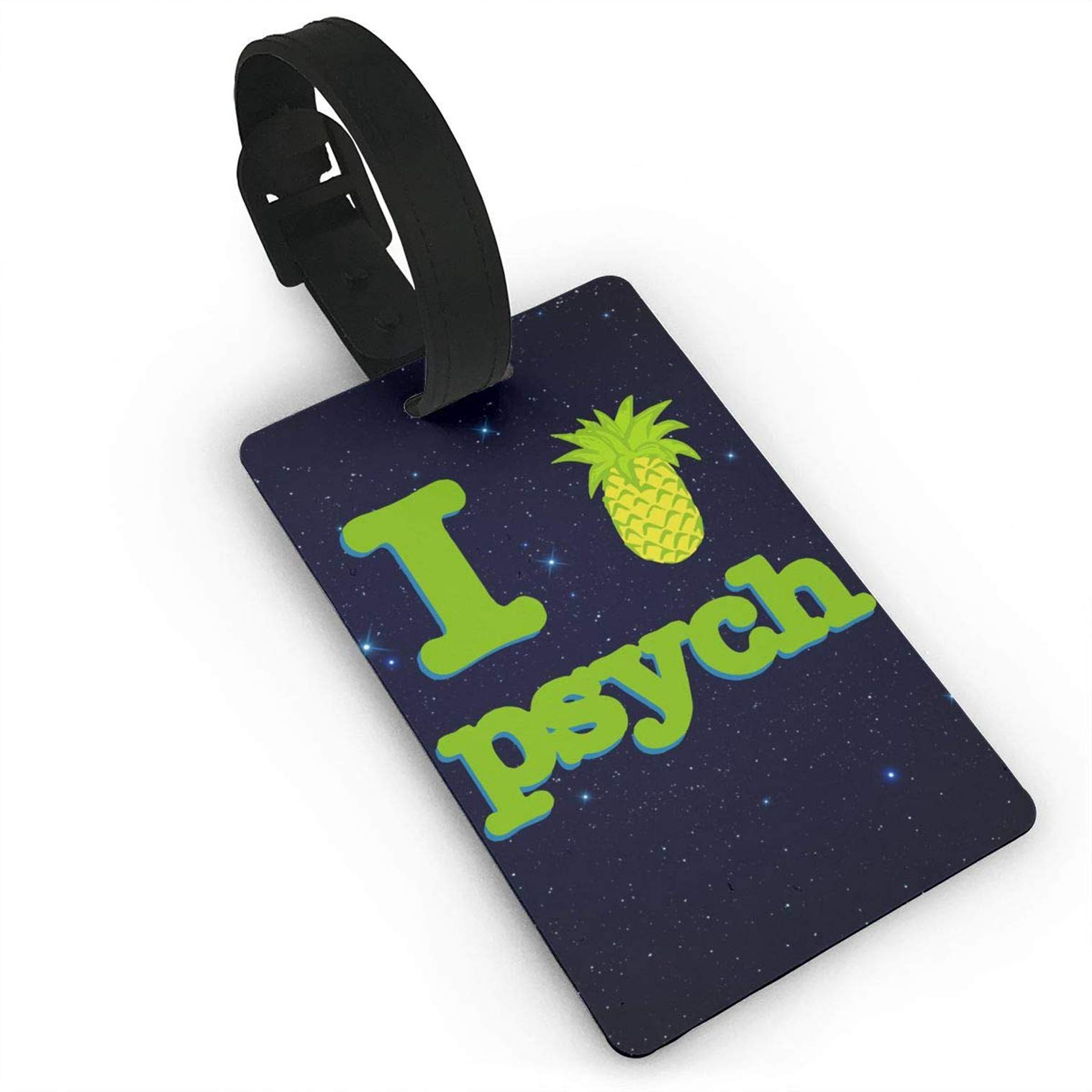 I Love Psych Pineapple,Bag Tags Travel ID Bag Tag for Men Women Baby Strollers,Luggage Bag Travel Luggage Tag ID Identification Labels by HOTSELL-Makemoney.forever