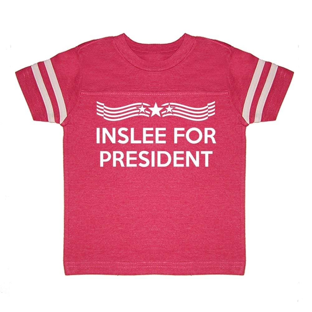 Star Banner Presidential Election 2020 Toddler//Kids Sporty T-Shirt Inslee for President
