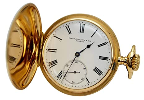 b7ae24ddccf Amazon.com  Patek Philippe Pocket Watch 18 Karat Gold-Certified Pre ...