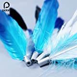 pidan Studio Cat Teaser Wand Feather Refill Interactive Toys Premium Quality Water-Dyed with Natural Color