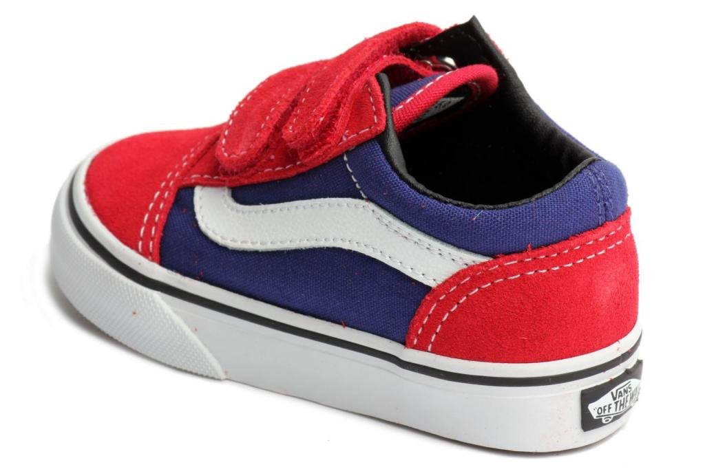 Vans Old Skool V - Zapatillas, Formule Couleur Un / Bleu, Talla 12 Royaume-uni