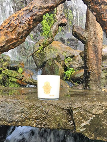 Moroccan Amber Candle by OneSoul | Spiritual Natural Soy Wax Hand Poured Highly Scented Aromatherapy Luxury Candle | 9oz 80 hour Zen Relaxation Yoga for Meditation | Made in the USA (Moroccan Amber)