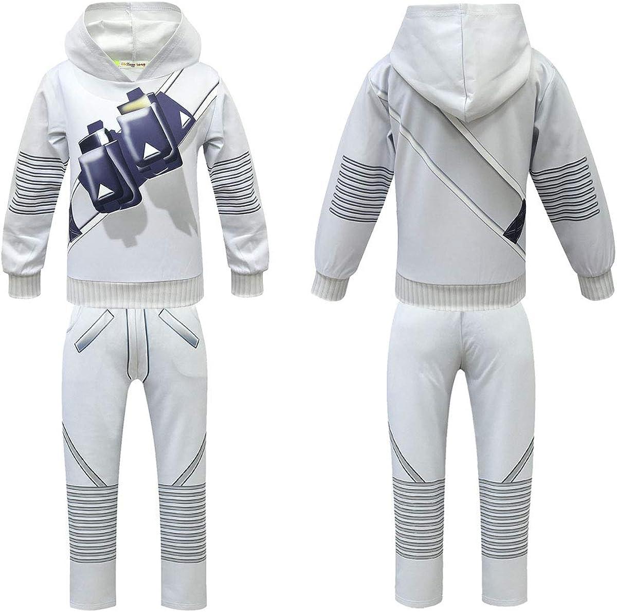 Sumeca Halloween DJ Cosplay Costume for Kids Hoodie Pant Sets