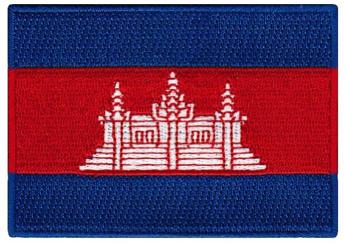 cambodia flag patch cambodian khmer