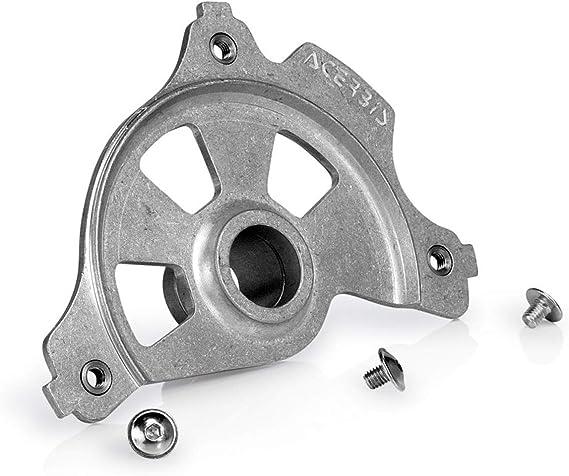 Acerbis Bremsscheibenschutz Montagekit Spider Evolution X Brake Silber Gr Vorn Auto