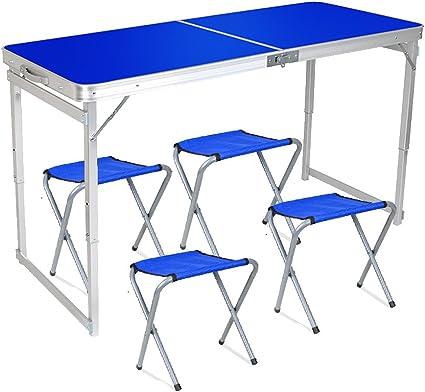 Ifoyo Table De Camping Pliable Pliante Table De Picnic Pique Nique