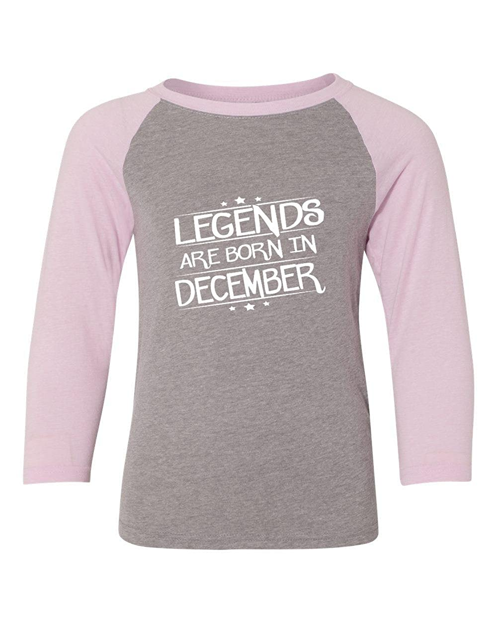 Marky G apparel Boys Legends Are Born In December T-Shirt