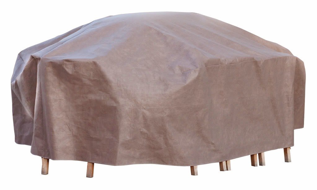 Amazon.com : Duck Covers Elite Rectangle / Oval Patio Table U0026 Chair Set  Cover With Inflatable Airbag To Prevent Pooling, 109 Inch : Patio Chair  Covers ...