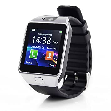 Global Technology GT dz09 Montre connectée Bluetooth Smart Watch Montre Bracelet Bluetooth Android iOS Appareil Photo
