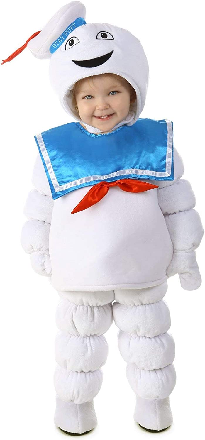 Princess Paradise Baby Ghostbusters Stay Puft Deluxe Costume, As Shown, 6 to 12 Months