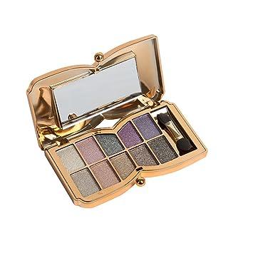 frcolor paleta de maquillaje de sombra de ojos (a 10 colores ...