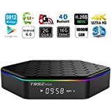 HONGYU T95Z PLUS Android TV BOX, Android 6.0 TV Box with Amlogic S912 Octa core 2GB DDR3 16GB EMMC Support 2.4G/5G Dual Wifi 1000M LAN Bluetooth 4.0 4K 3D OTT TV Media Player