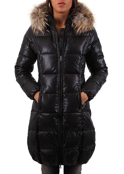 Bomboogie abrigo de plumas para mujer Piumino Donna Black: Amazon.es: Ropa y accesorios