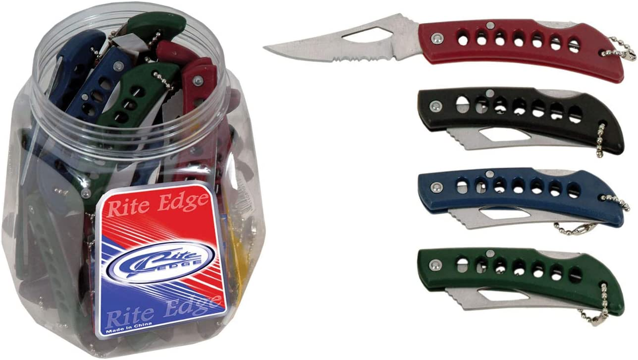 SZCO Supplies Jar Eagle Eye Knife Display, 36-Piece