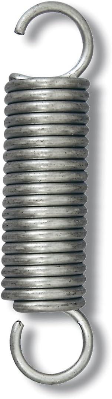 Chapuis rso4 – Juego de 4 muelles para somier metálico – acero galvanizado – carga de trabajo indicative 126 kg – Diámetro 3 mm – longitud 75 mm, ...