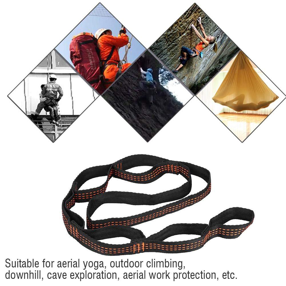 Alomejor Ceinture de Yoga Yoga Balance de Yoga Anti-gravit/é dair dhamac de Courroie dextension de Yoga pour Le Camping ext/érieur