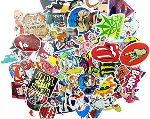 Stickers Skateboard Vintage Vinyl Sticker Laptop Luggage Ca