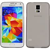 Galaxy S5 Case, Heavy Duty Cover Ultra Slim Fit Protection Back Cover For Samsung Galaxy S5 (SM-G900H) (Grey)