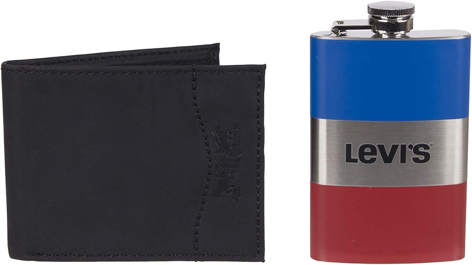 Levis  Mens  Wallet With Gift Set