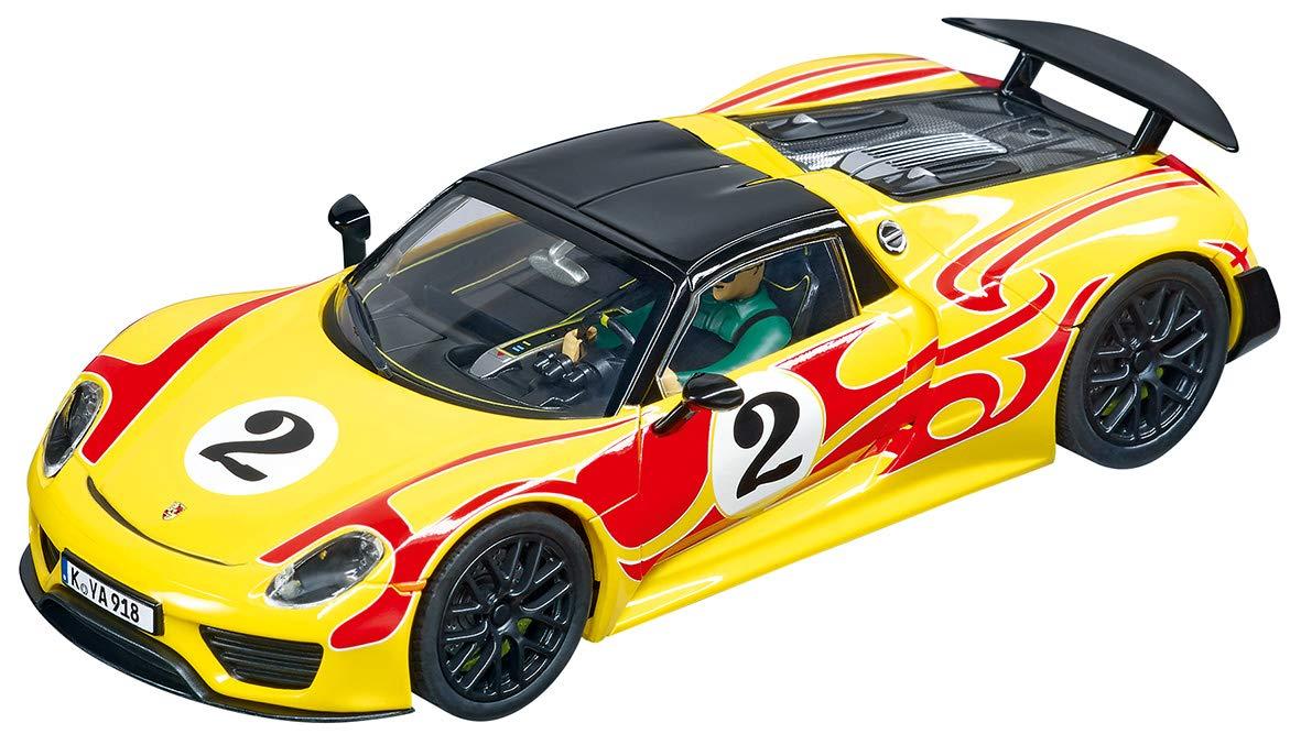 Carrera 30877 Porsche 918 Spyder #2 Digital 132 Slot Car Racing Vehicle 1:32 Scale by Carrera