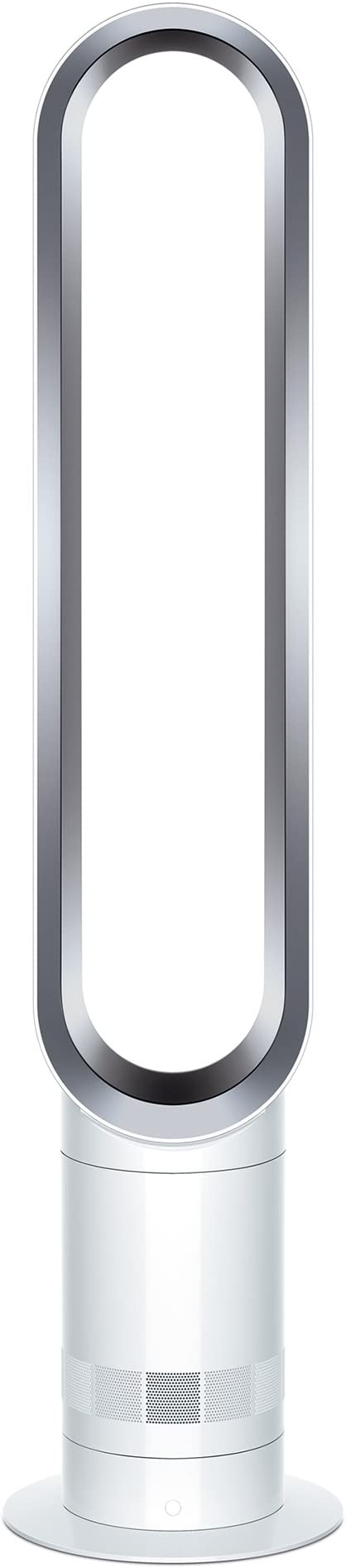 Dyson Cool AM07 Air Multiplier Tower Fan, White/Silver