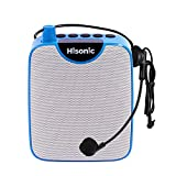 Hisonic HS388 Waistband Voice Amplifier: 4-in-1 Mini Portable PA System with Headset Microphone + Portable Speaker + Digital Voice Recorder + FM Radio