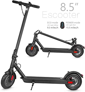 XPRIT Electric Scooter, Up to 15 Miles Range, 2 Gear Speed Mode