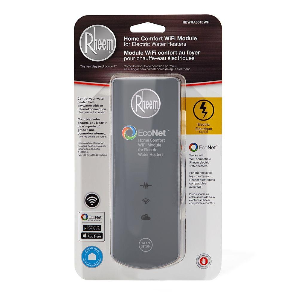 Rheem Home Comfort WiFi Module for Electric Water Heaters - REWRA631EWH - - Amazon.com