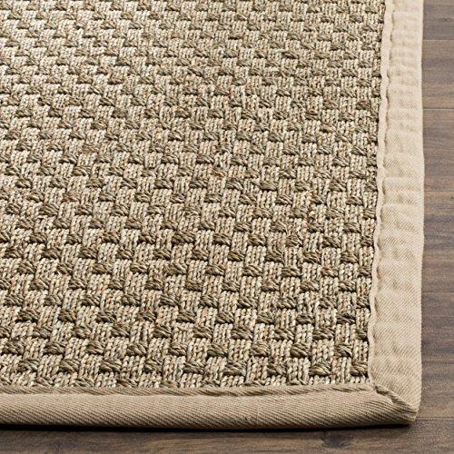 safavieh natural fiber collection nf114a basketweave natural import it all. Black Bedroom Furniture Sets. Home Design Ideas
