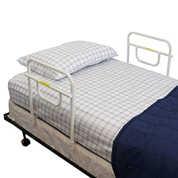 MTS Medical Supply Double Security Bed Rail 18 Inch