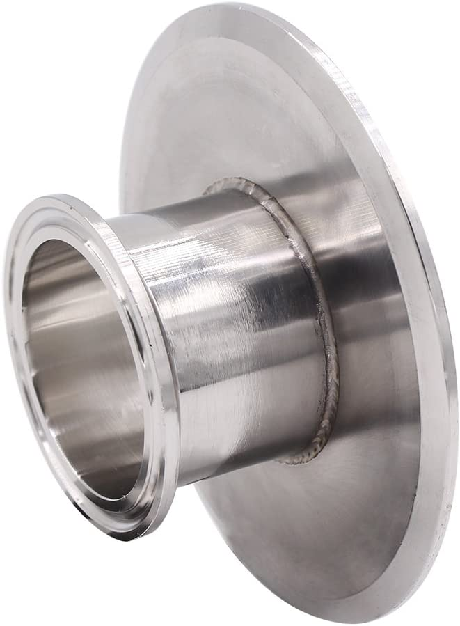 DERNORD Sanitary End Cap fits Tri-Clamp Ferrule Flange Stainless Steel 304 Fitting Clamp 2 Tube OD 5 Pack 51mm