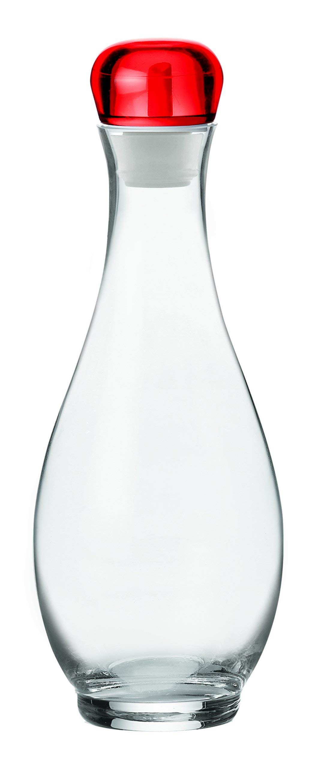 Guzzini Oil / Vinegar cruet, 33.8oz., Transparent Red by Guzzini