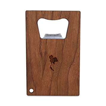 Amazon Com Wooden Accessories Company Credit Card Sized Bottle