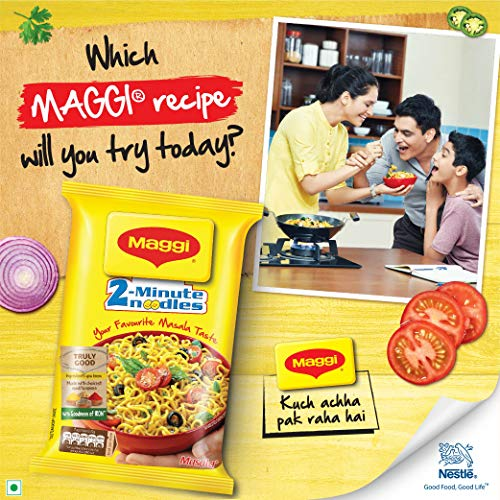 Maggi 2-Minute Noodles Masala, 70g (Pack of 12) 7